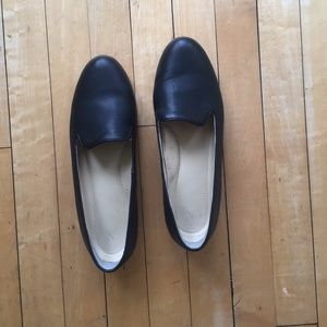 Nisolo Black Leather Smoking Shoe